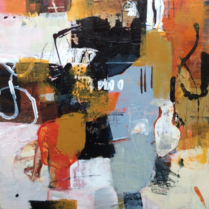 Linda Coppens- colorful abstract painting