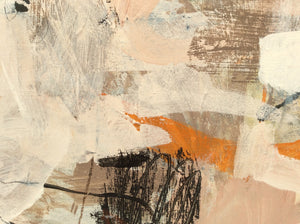 Poetry of life-abstract painting-detail