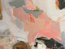 Linda Coppens- Poetry of life, colorful abstract painting-detail