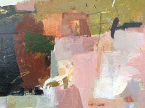 Poetry of life 3-abstract painting-detail