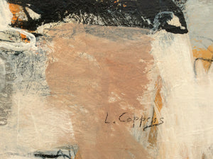 Poetry of life 4-abstract painting-detail