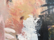Poetry of life 6 - abstract painting - detail