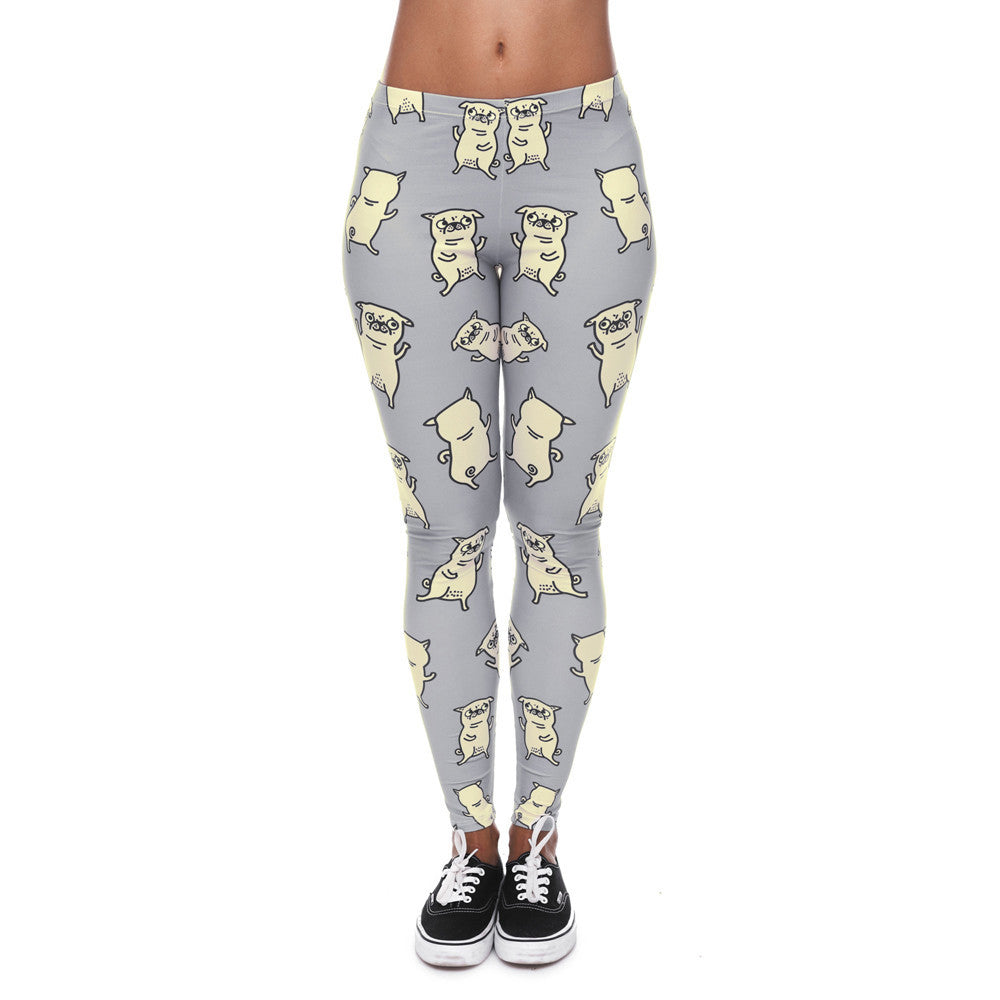 Pug Puppy Leggings