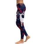 Deer Printed Leggins