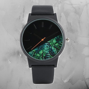 Mens Tropical Quartz Watch - Black