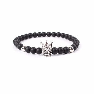 Mens Stealth King Crown Bracelet - 4 Colours Available