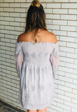 Beautiful Tonight Off The Shoulder Lace Dress