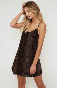 Destiny Multi Leopard Mini Dress