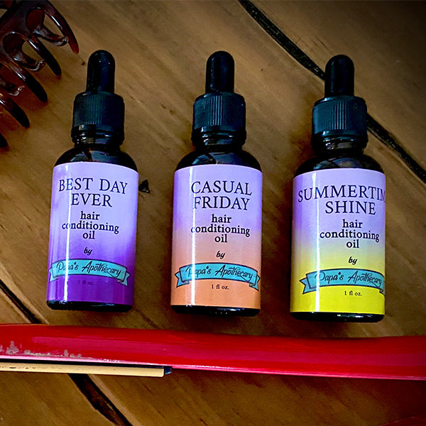 New Conditioning Hair Oils released!
