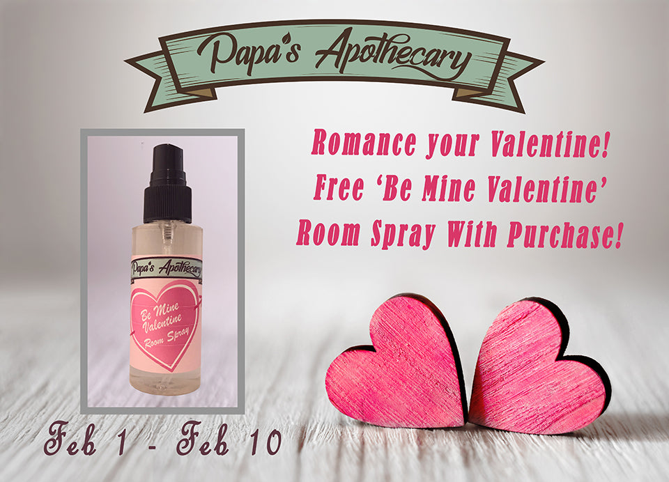 Our Be Mine Valentine formula and sale details!