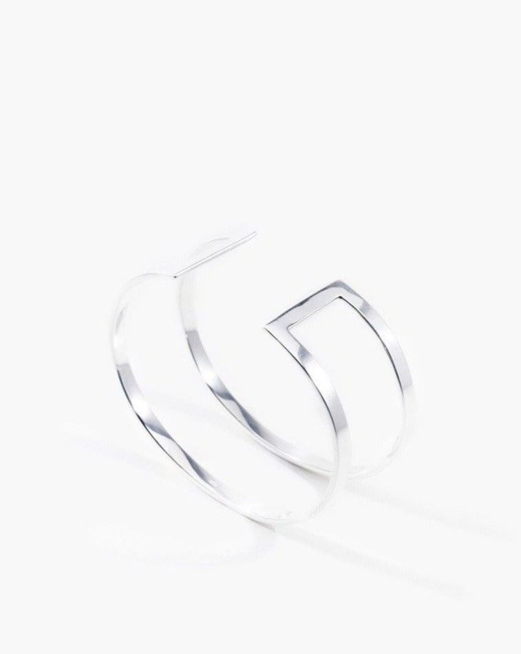 DOUBLE LINE / STERLING SILVER