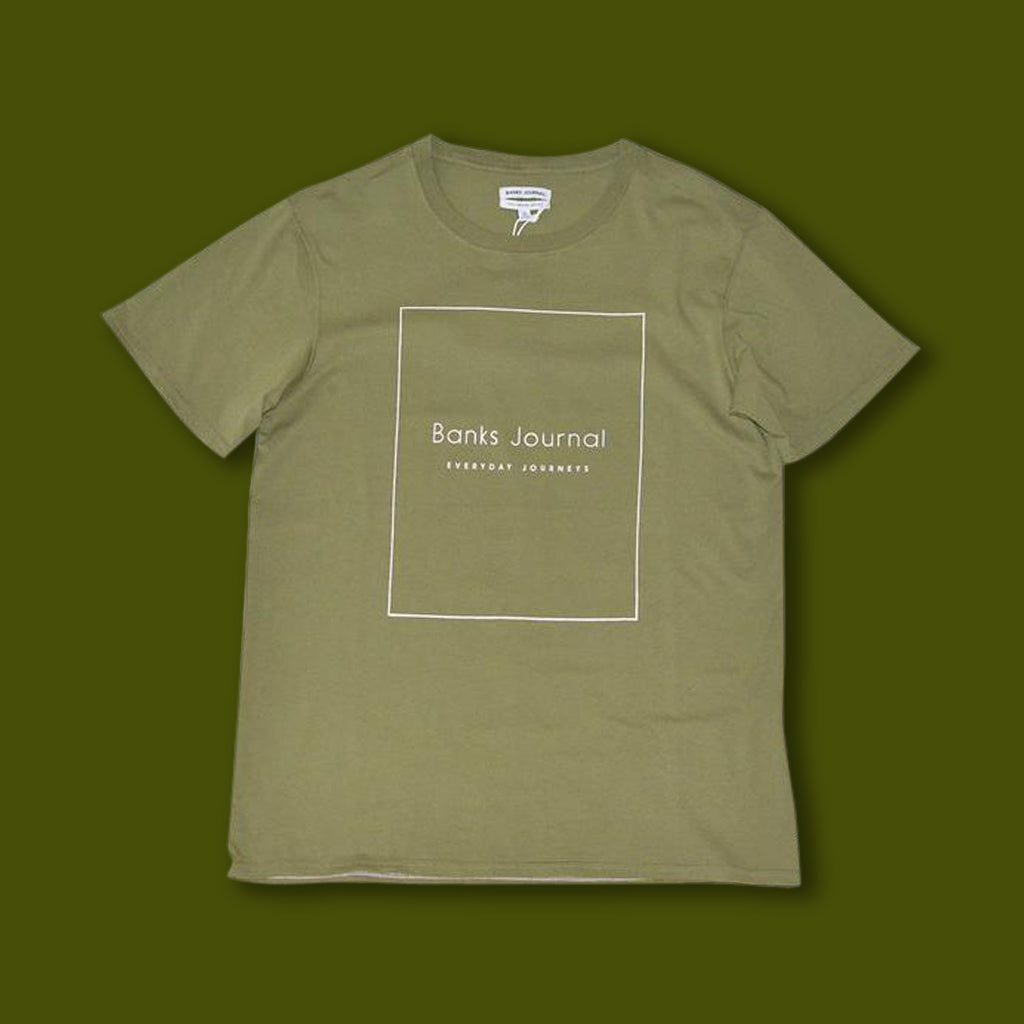 Nue Tee - Loden Green
