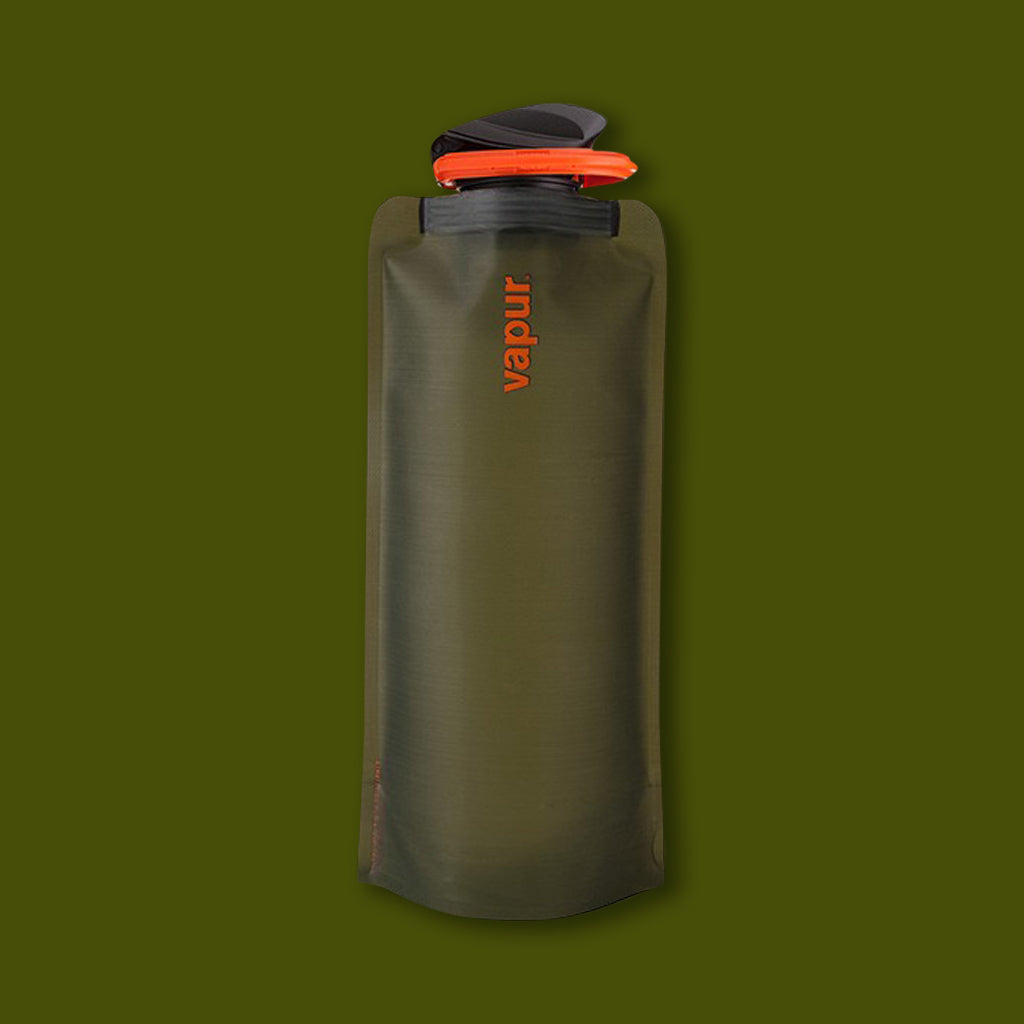 Vapur Foldable Bottle 0.7L - Olive