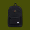 Heritage Backpack - Black & Camo