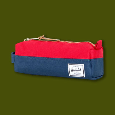Settlement Case - Navy & Red