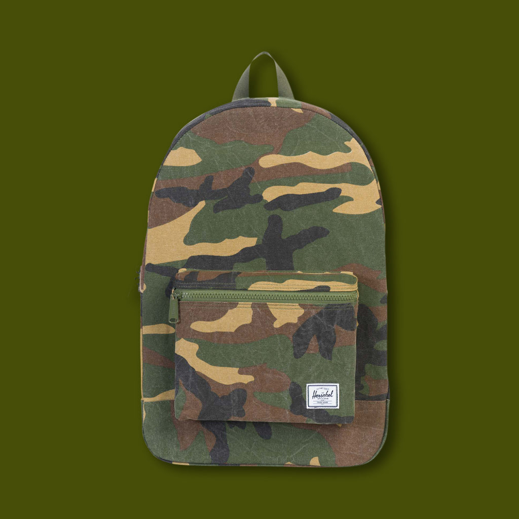 Cotton Packable Day Pack - Camo