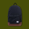 Packable Day Pack - Black & Tan