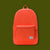 Cotton Packable Day Pack - Vermillion