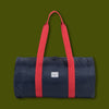 Packable Duffel - Navy & Red