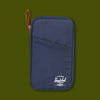 Travel Wallet - Navy & Red