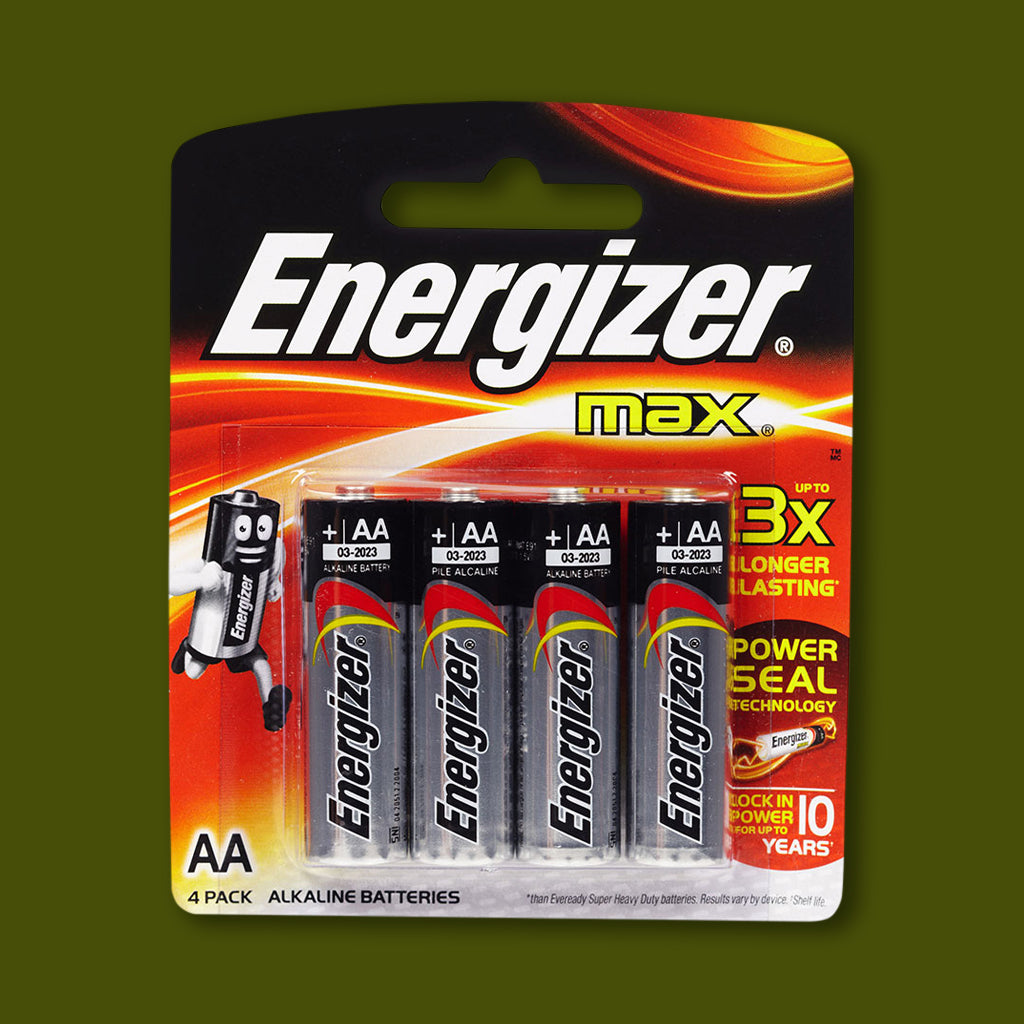 Batteries - Size AA - 4 pack