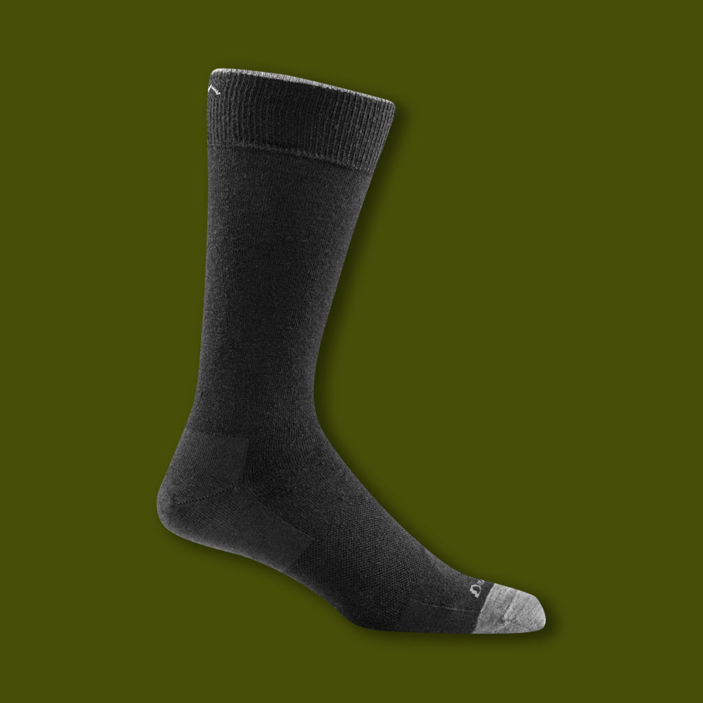 Solid Crew Light Socks - Black