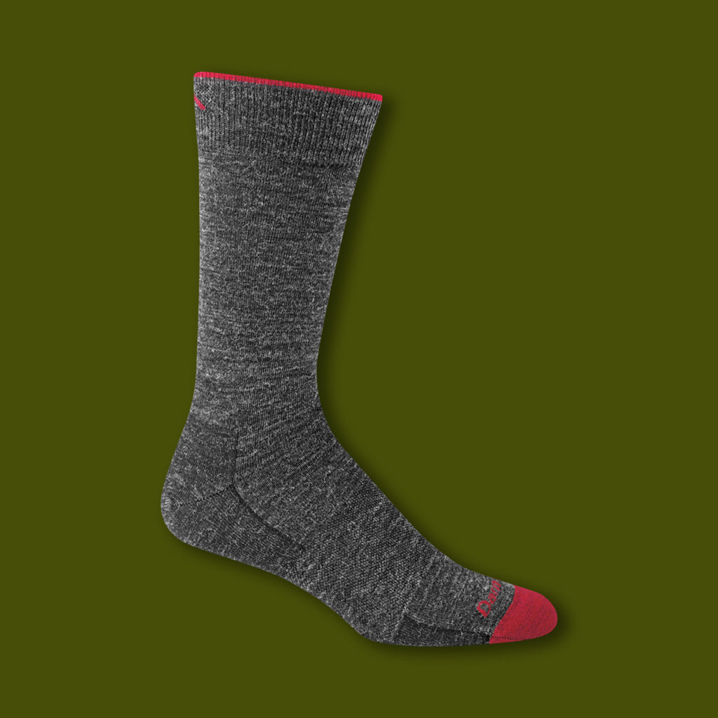 Solid Crew Light Socks - Charcoal