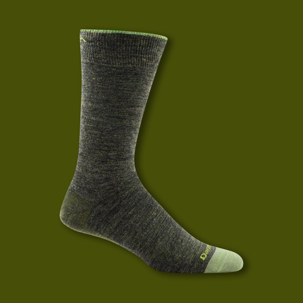 Solid Crew Light Socks - Forest