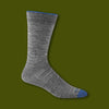 Solid Crew Light Socks - Gray