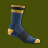 Haselton Micro Crew Light Socks - Denim