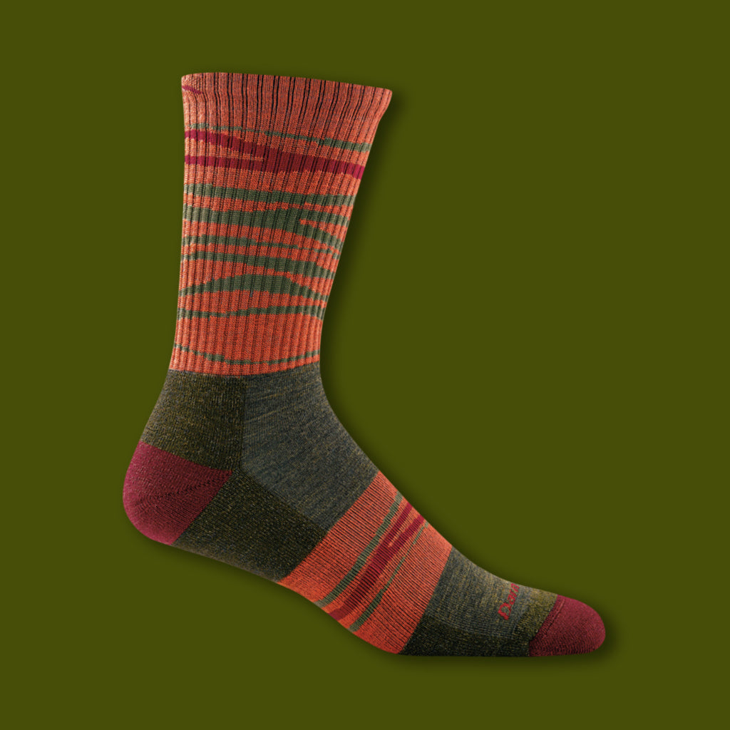 Switchback Micro Crew Socks - Forest