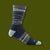 Switchback Micro Crew Socks - Navy