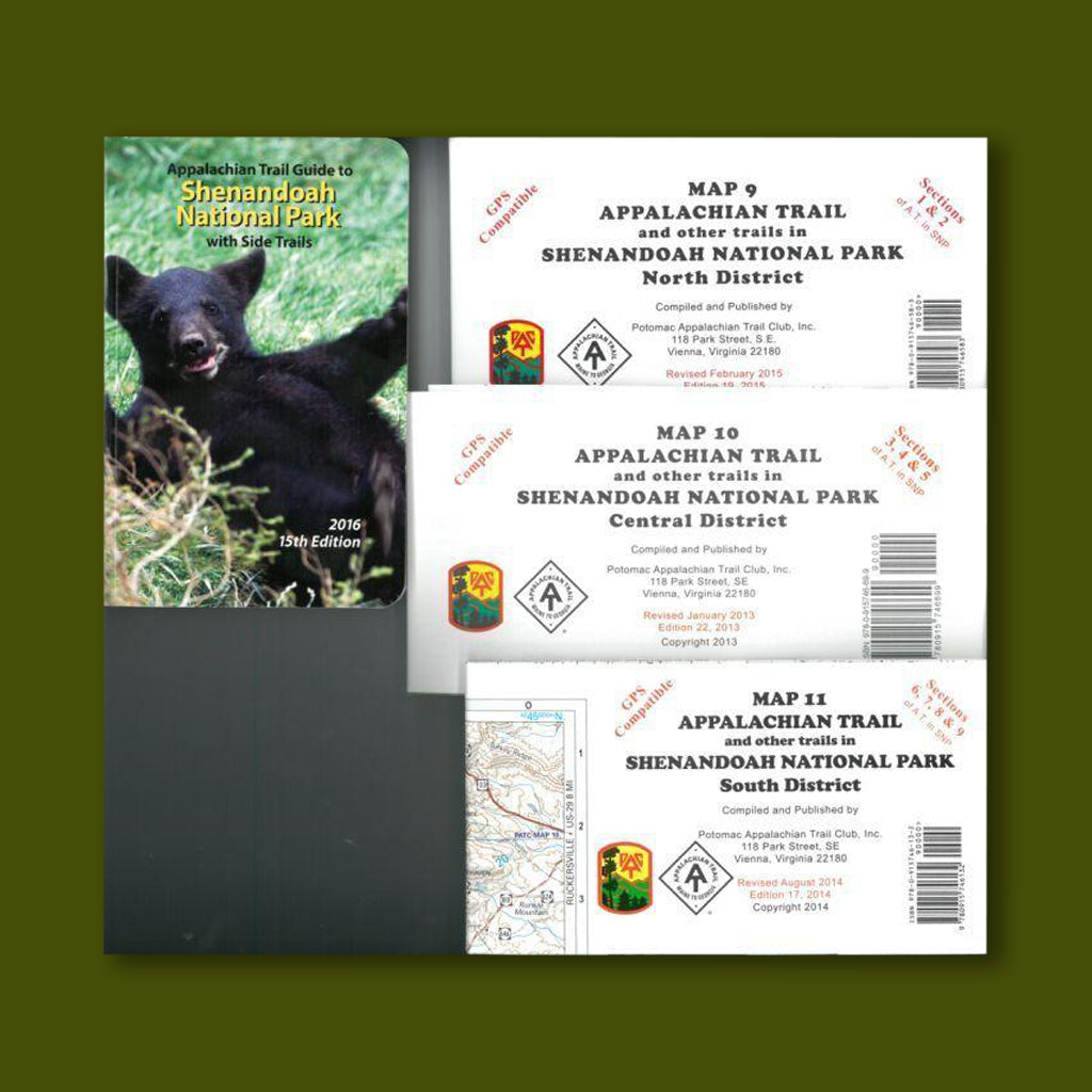 PATC Bundle -  Guidebook #7 + Maps 9, 10, 11