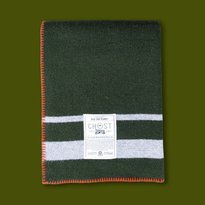 Cabin Fever Wool Blanket Happy Camper Equipment Company