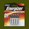 Batteries - Size AAA - 4 pack