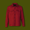 Wool CPO Shirt - Red