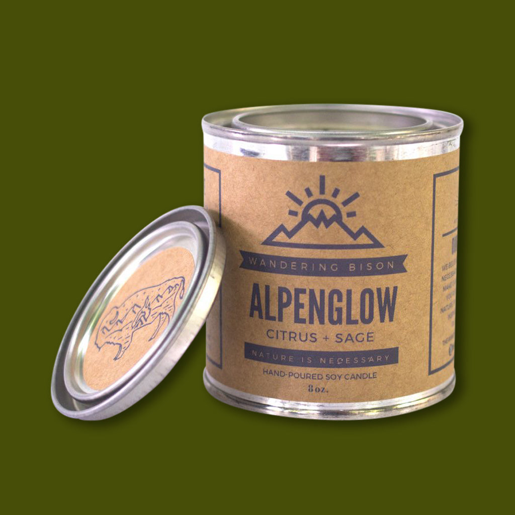 Alpenglow Candle