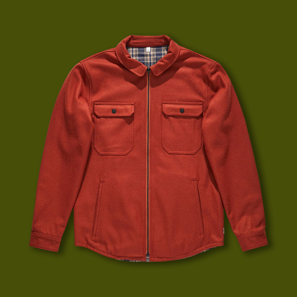 Lumber Jacket - Baked Clay