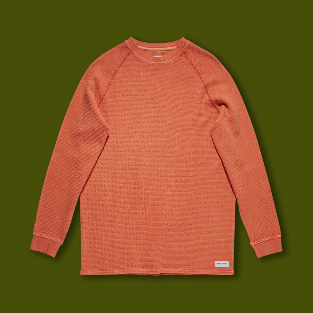 Preston Transseasonal Mid-Weight Fleece - Rust