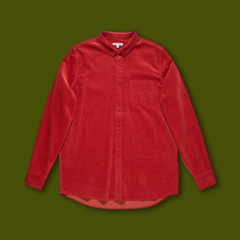 Roy Long Sleeve Shirt - Rust
