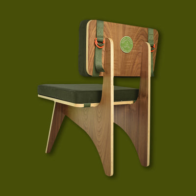 Happy Camper Equipment Co. Walnut Cabin Vibes Chair