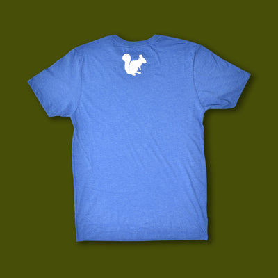 Sperryville Script Tee - Heather Royal Blue
