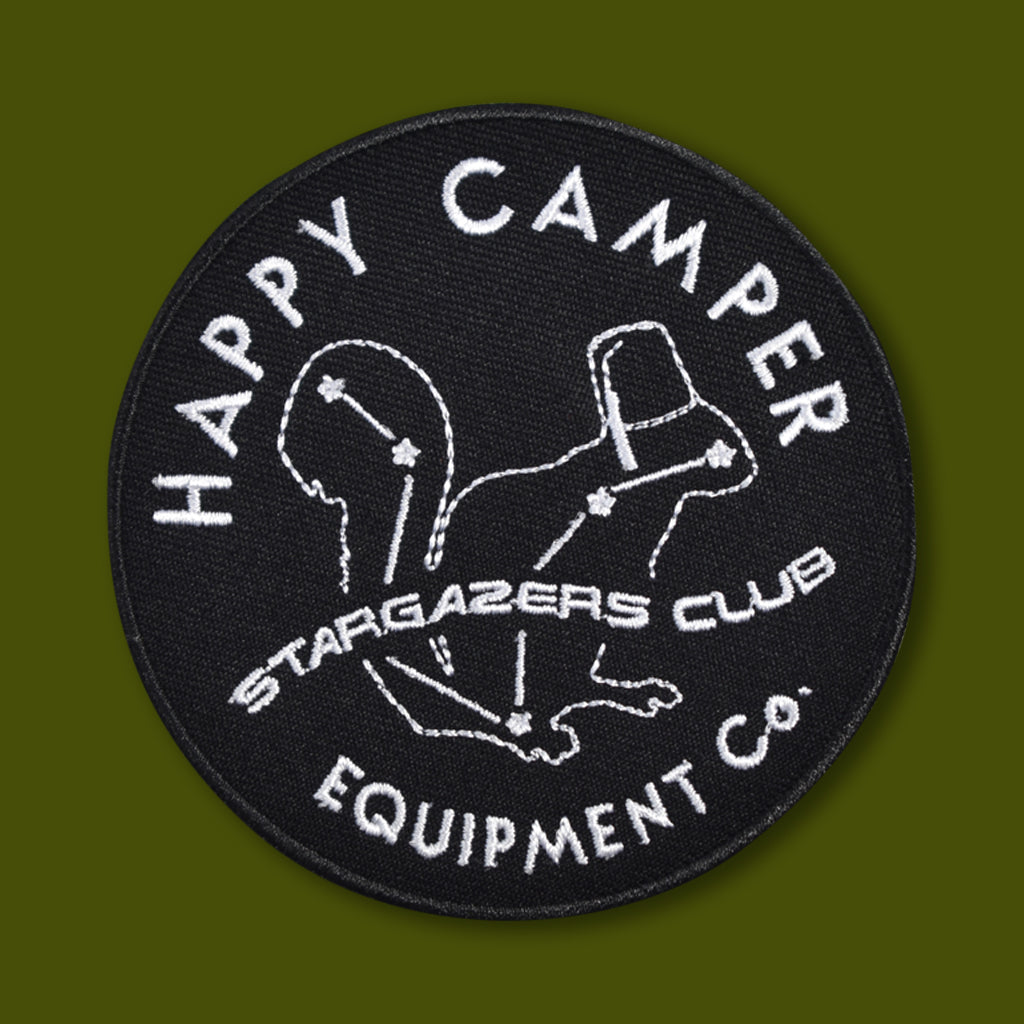 Happy Camper Equipment Co Stargazers Patch