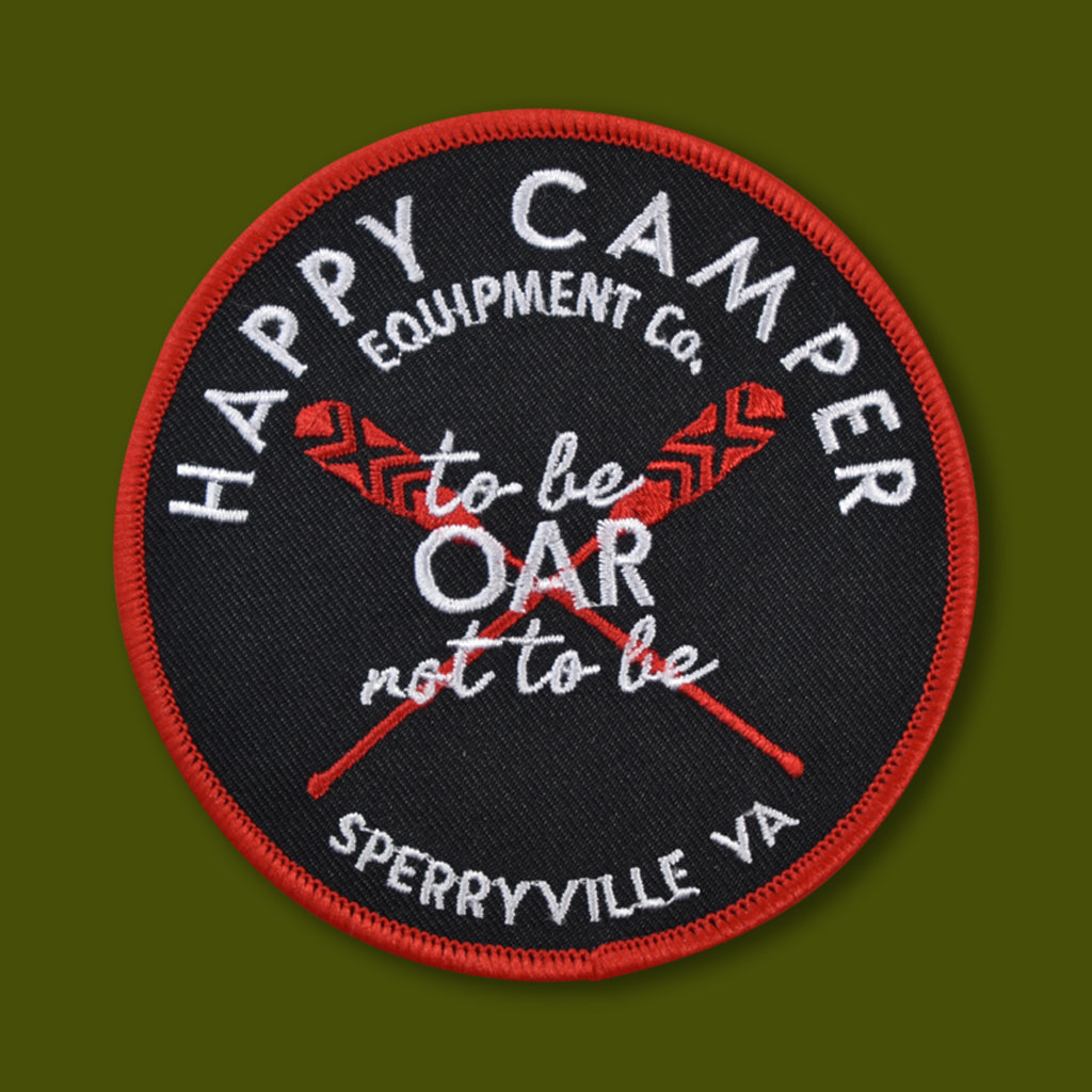 Happy Camper Equipment Co Oar Patch