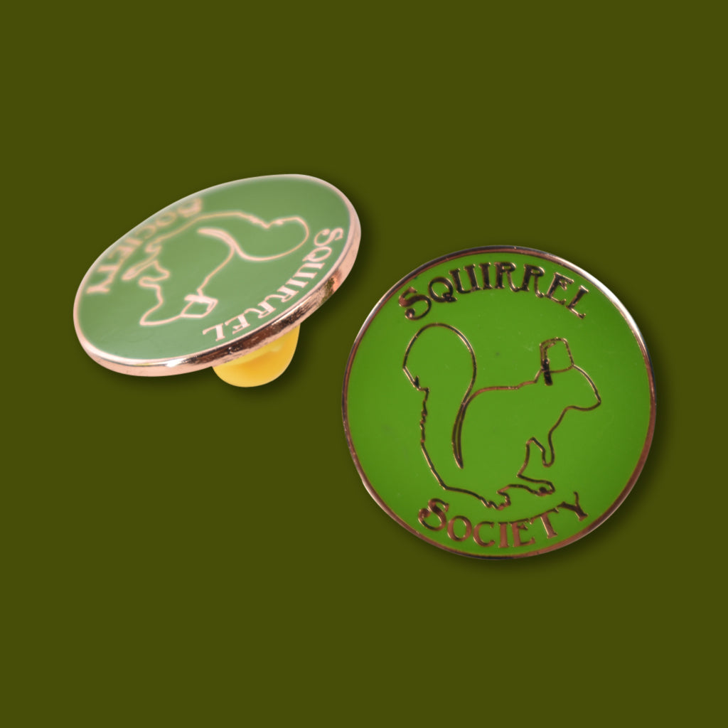 Squirrel Society Pin