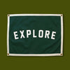 Explore Camp Flag Banner