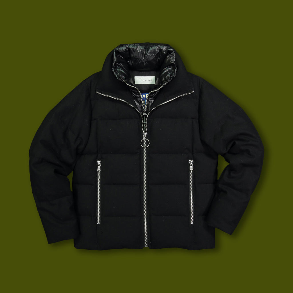 Crosby Puffer Jacket - Black