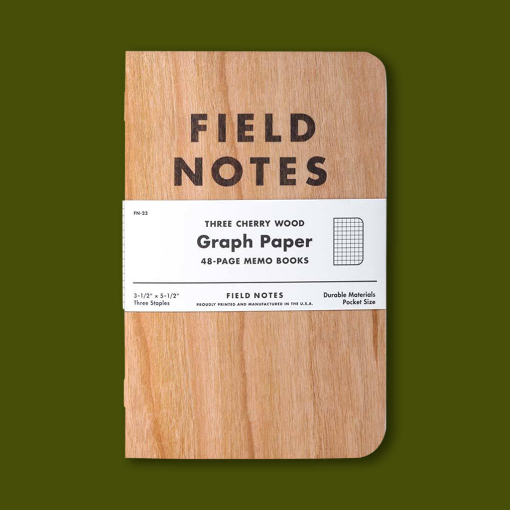 Field Notes Cherry Graph Paper