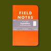 Field Notes Expedition Three Pack