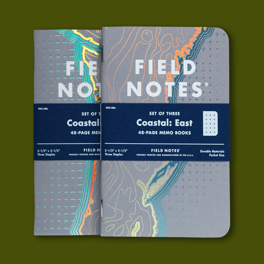 Field Notes Coastal Pack Memo Books